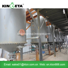 Straw recycling and utilization machine biomass gasifier