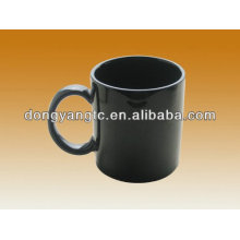 Promotional mug,coffee ceramic black mug