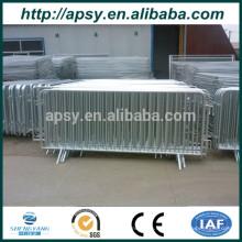 Barrières temporaires de cadre en métal de 2.1mx 1.1m pour le contrôle de foule