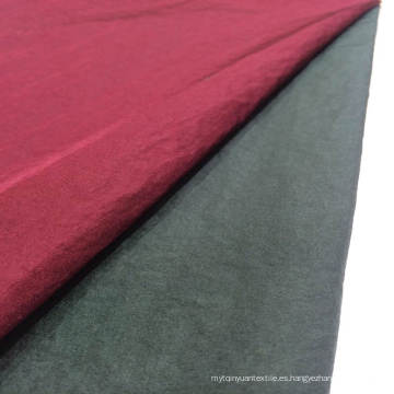 Stock 100% nailon brillante tejido tejido textil de tela
