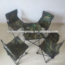 Set de jardin chaise pliante