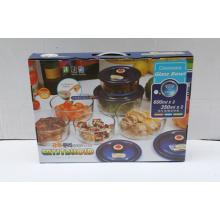 Impressão personalizada caixa de embalagem ondulada com alça