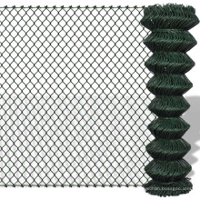 PVC Coated Chain Link Fence Packing in Roll