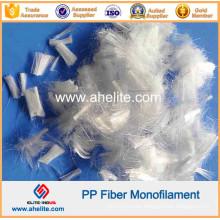 100% Virgin Polypropylene PP Fiber for Concrete Reinforcement