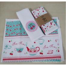(BC-KT1025) Good Quality Fashionable Design Tea Towel/Kitchen Towel