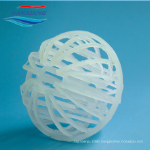 Plastic Tri-pack ball for Tower Packing