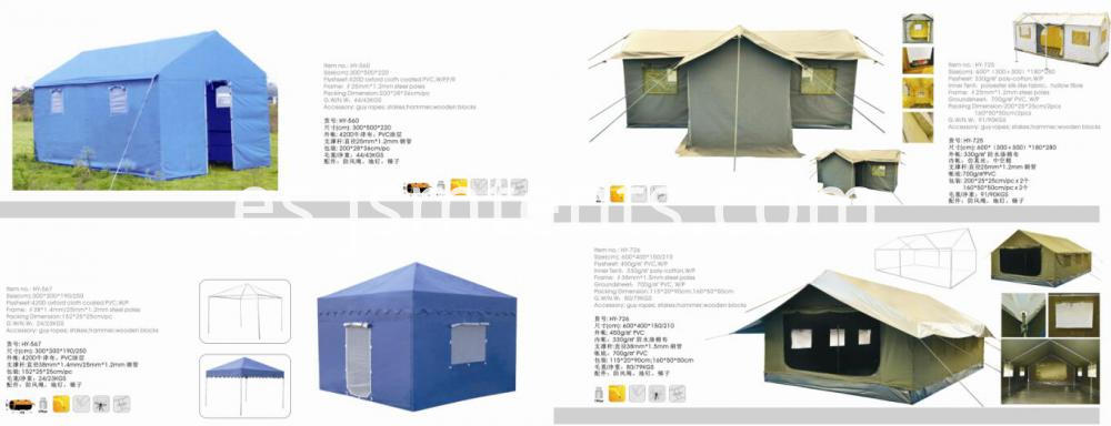 Foldable Pop Up Unhcr Relief Tent