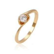 13961 Xuping 1 gramo anillos de oro de diseño para las mujeres con el precio, los últimos anillos de bodas chapados en oro para las mujeres