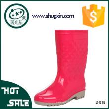 wasserdichte Schuhe Frauen PVC Regen Schuhe