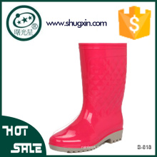 zapatos impermeables zapatos de lluvia de pvc mujeres