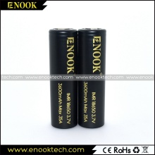 Enook 3600Mah 18650 lithium polymer battery cells