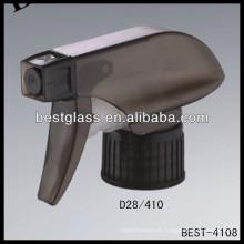 Rociador del gatillo 28/410 negro, disparadores del rociador de las botellas cosméticas, rociador de la bomba del perfume