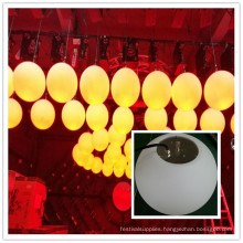 Waterproof outdoor 24V round dmx rgb ball