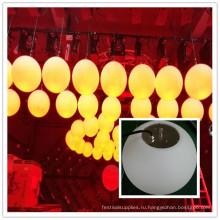 Водонепроницаемый открытый 24В круглый шар RGB и DMX