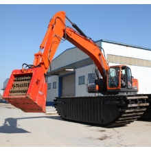 High-efficiency amphibious excavator sale