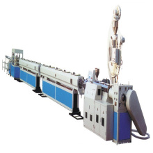 pvc hdpe pe pipe extrusion line