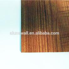 20 años de garantía Material acp de madera Panel compuesto de aluminio acm