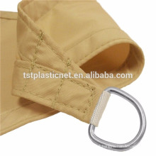 cheap custom-made waterproof polyester sun shade sail