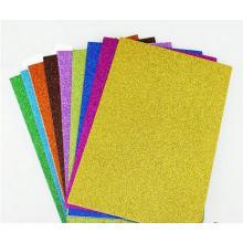 Venta al por mayor Scrapbook Adhesive Multi Color DIY Sparkling Glitter Paper