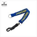 Пользовательские дешевые короткие брелки для ключей с карабинным крючком