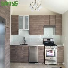 Armoires de cuisine en bois simples, modernes et bon marché