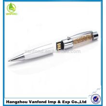 2015 году горячей продажи кристалл индивидуальные логотип usb ручка привода оптом