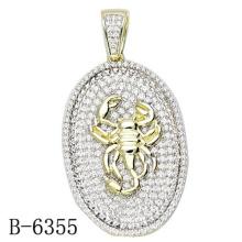 La última joyería pendiente del diseño 925 Sterling Silver con el diamante