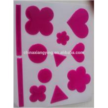 PVC Reflective Safety Product, Free Custom Product, Shaped PVC Stickers