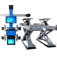 TFAUTENF 4-wheel alignment system/car aligner scissor lift and wheel alignment machine