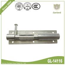 Verrou de sécurité pour porte coulissante en acier