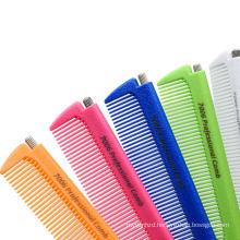 Hair Brush Metal Pin Tail Combs Hairdressing Barber Tool Flexible Comb