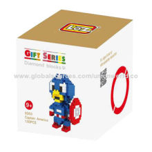 130pcs Small Figure Building Blocks, Promotional Gifts, OEM Services Welcomed