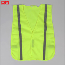 Non-ANSI Hi Vis Lime Safety Vest