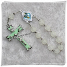 Luminous Resin Beads One Decade Rosary (IO-CE074)