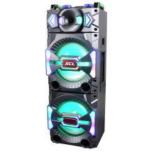 Tragbarer lautsprecher micro sd kartenspieler