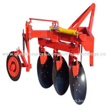 New type two-way reversible disc plough