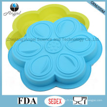 Ustensiles de cuisson en silicone à fleurs pour frigidaire et four à micro-ondes Utilisez Sc53