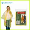 Yellow Cheap Disposable Women′s Rain Poncho