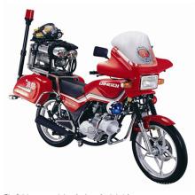 2 Räder 4 Räder feuern Motorrad