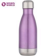 Botella de agua sellada al vacío del acero inoxidable del viaje libre al por mayor 12oz de BPA