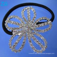 Luxuriöses Kristallmädchenhaarband, französisches Haarband, Mädchenhaarzusatzblumenhaarbänder