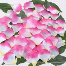 Großhandelskünstliche Rosen-Blumenblatt-Hochzeits-Rosen-Blumenblatt-Poppers