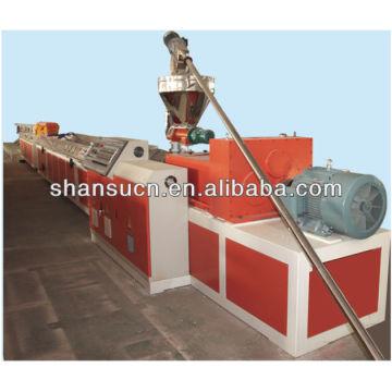 WPC-Profile-Maschine (PVC/PP/PE + Holz-Pulver)