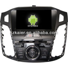 4.2.2 система DVD-плеер автомобиля андроида для 2012 Форд Фокус с GPS,Блютуз,3G и iPod,игры,двойной зоны,управления рулевого колеса