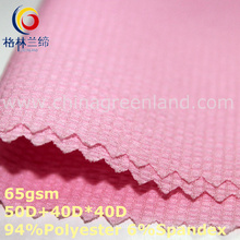 Polyester Spandex Chiffon Seersucker Fabric for Shirt Blouse (GLLML347)