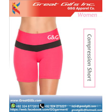 Wholesale High Quality Custom Compression Women Short Pants Sexy Ladies Sports Shorts For Running