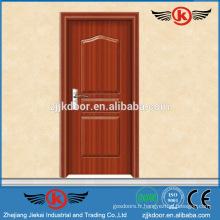 JK-P9026 pvc salle de bain / cuisine / cabinet pvc prix de la porte intérieure