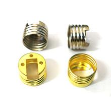 Peças de estampagem de metal para suporte de lâmpada