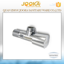 Chrome plated sanitary fittings brass angle valve