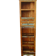 recycled wood book case